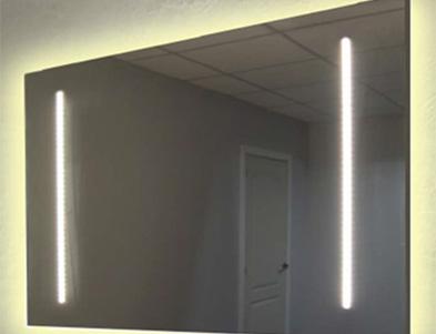 espejos de baño con luz led en malaga